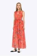 Длинное летнее платье без рукавов Emka PL425/myurei