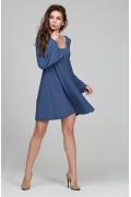 Мини-платье клешённое от груди Donna Saggia DSP-202-92t