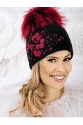 Женская шапка с большим помпоном Willi Dagnara