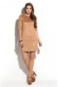 Замшевое платье Donna Saggia DSP-244-36t