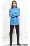 Женский свитер голубого цвета  Andovers Z299