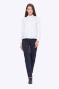 Тёмно-синие женские брюки Emka D-005/gorgeous
