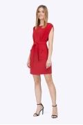Летнее короткое платье без рукавов Emka PL775/stivi