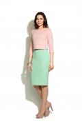 Платье с эффектом юбки и блузка Donna Saggia DSP-39-60t