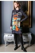 Молодёжное платье-туника Flaibach 058W7