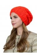 Женская шапка алого цвета Landre Астра