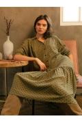 Лёгкое тонкое летнее платье Emka PL1028/bristol