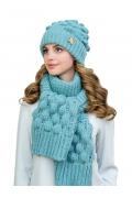 Шапка + шарф объемной вязки Landre Мелани