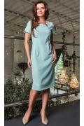 Летнее платье голубого цвета TopDesign Premium PA8 17
