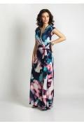 Длинное летнее платье TopDesign A6 020