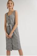 Приталенное платье без рукавов Emka PL987/karen