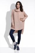 Длинный женский свитер oversize Fimfi I213