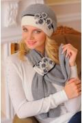 Комплект (берет + шарф) цвета Landre Андреа