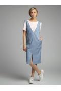 Платье-сарафан с накладными карманами Emka PL1097/kevin