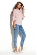 Розовая блузка Donna Saggia DSB-35-80t