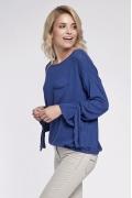 Синяя женская блуза на осень Sunwear O38-5-53