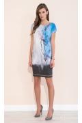 Яркое летнее платье с цветочным принтом Zaps Torri