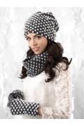 Недорогая женская шапка Kamea Grosseto