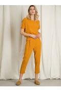 Зауженные укороченные брюки Emka D042/orange