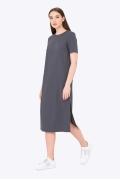 Молодёжное платье с разрезами по бокам Emka PL-514/letisiya