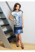 Прямое летнее платье TopDesign A7 012