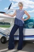 Женские широкие брюки Flaibach 018S8