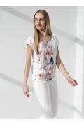 Летняя блуза с коротким рукавом Sunwear I15-2-34