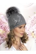 Женская шапка с помпоном Willi Onida