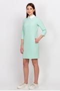 Платье с белым воротничком Emka Fashion PL-440/dayana