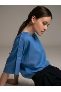 Блуза в стиле кимоно Emka B2526/parrot