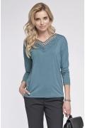 Блузка с кружевом Sunwear O27-5-47
