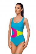 Слитный купальник яркого цвета Viva La Donna 045-1