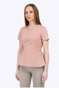Женская блузка с резинкой на талии Emka B2273/usque