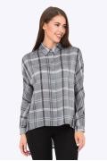 Женская рубашка с клетку Emka Fashion b 2184/generva