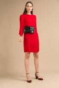 Платье красного цвета Emka PL882/orabella