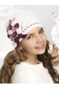 Шерстяная шапка по голове для девочек Willi Vaselina