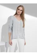 Блузка с V-образным вырезом Sunwear I35-5-15