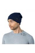 Одинарная мужская шапка с отворотом Landre Амадео