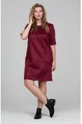 Платье из искусственной замши Donna Saggia DSPB-26-77t