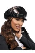 Женская кепка из шерсти с козырьком Willi Avala