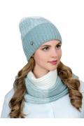 Женский комплект шапка + снуд Landre Луиза