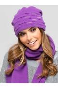 Двойная шапка аметистового цвета Kamea Savona