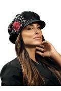 Модная женская кепка из шерсти Willi Tenitava