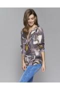 Блузка с разрезом спереди Zaps Kamisa