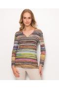 Блузка с V-образным вырезом Sunwear Z25-5-22