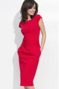 Платье красного цвета Nuninou NU44
