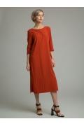 Платье с разрезами и завышенной талией Emka PL1074/haris