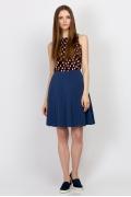 Летняя юбка из хлопка Emka Fashion 606-bonita