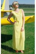 Длинное летнее платье без рукавов Flaibach 066S8