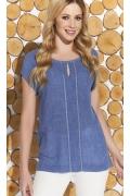 Тонкая летняя блузка из вискозы Zaps Marcela